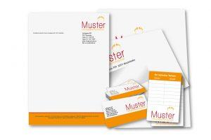 Illustration Geschäftsausstattung - Muster